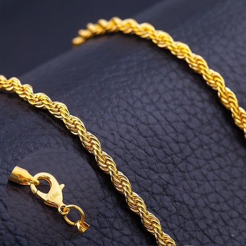 Genuine 18K Yellow Gold Filled 20 inch Necklace