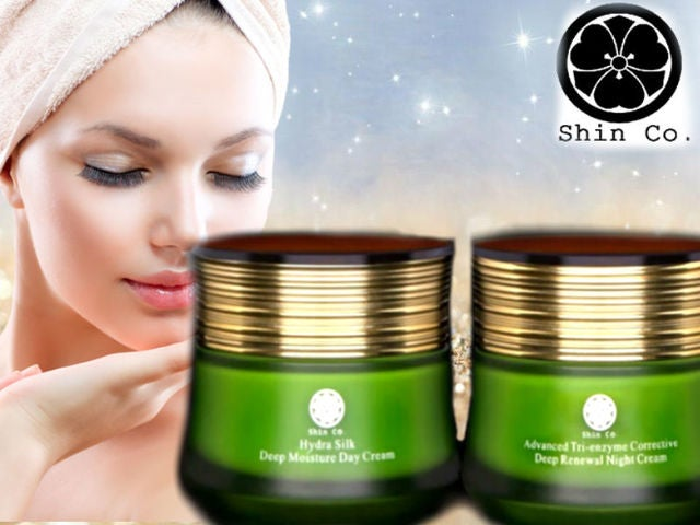 Shin Co. Day + Night Cream set