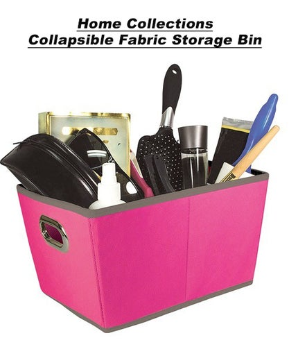 Home Collections Collapsible Fabric Storage Bin