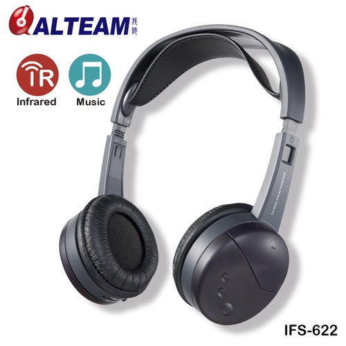 IFS-622 Dual-channel Infrared Headset To Take Foreign Home Car Market For Trade