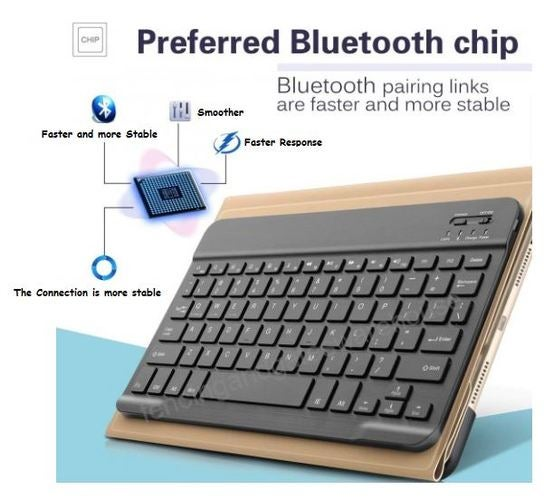 WIRELESS BLUETOOTH keyboard ipad Android tablet phon    | Tophatter