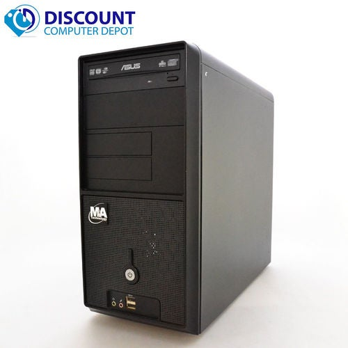 Fast Windows 10 Desktop Computer with Core 2 Duo Processor and a 500GB Hard Drive