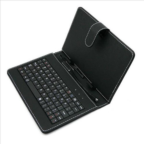 Lucky Gift 2018 !Hot Sale Universal 7inch Tablet PC Keyboard Flip Stand Case Keyboard Holster