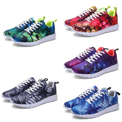 Mens Womens Gym Sports Sneakers Casual Running Breathable Athletic Shoes Size