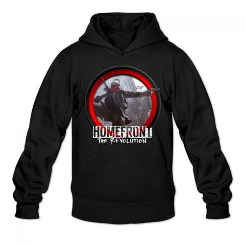 Homefront The Revolution 2016 Logo Men's Hoody Hoodie Hooded Sweatshirt