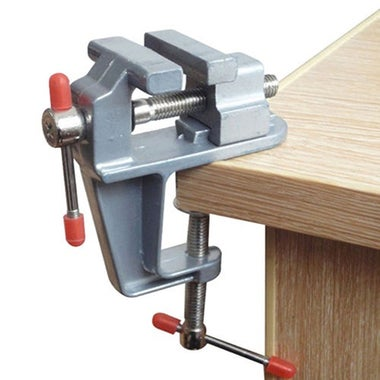 New Trendy 3.5 Inch Mini Aluminum Small Jewelers Hobby Clamp on Table Bench Vise