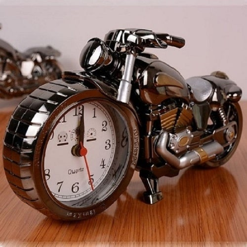 Electronic Cool Motorcycle  Alarm Clock