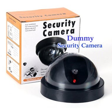 Fake Dummy LED Dome CCTV Security Surveillance Camera Wireless Home Security