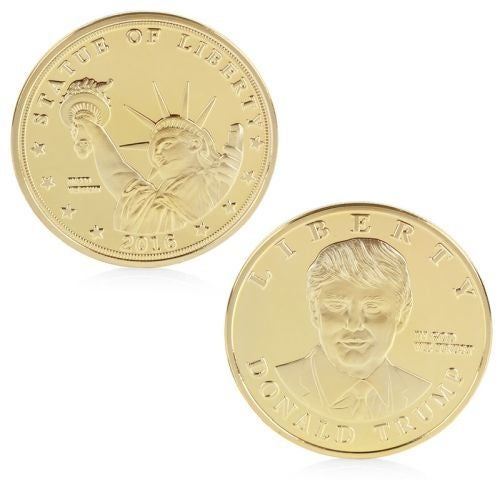 Donald Trump - 24k Gold Plated Commemorative Coin
