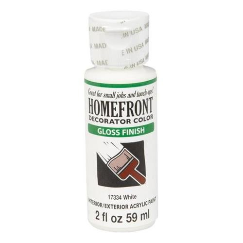 Homefront 17334 Homefront Gloss Interior & Exterior Acrylic Paint, 2 oz - Pack of 3