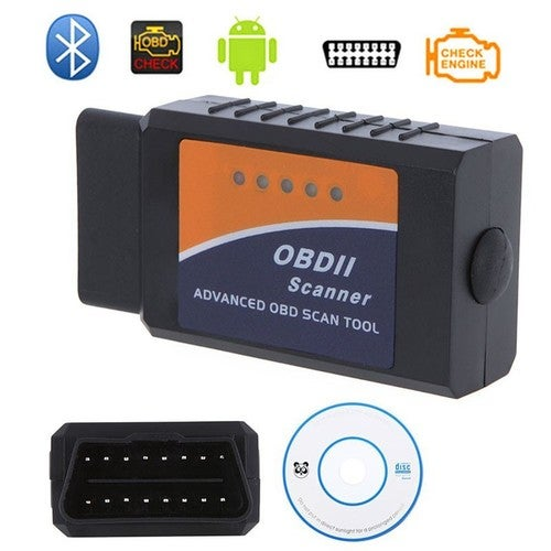 Mini Bluetooth ODB2 OBDII Car Diagnostic Scanner Code Reader ELM327 For Android & IOS