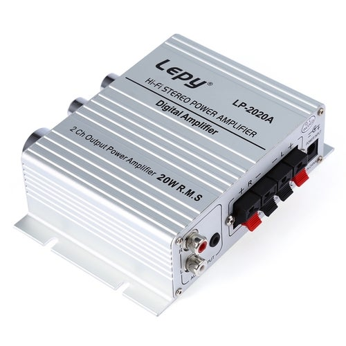 Lepy LP - 2020A High Fidelity Digital Stereo Amplifier With Overcurrent Protection