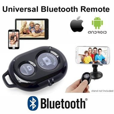 Bluetooth Shutter Remote Control Button Wireless Bluetooth Self-Timer Camera Pho