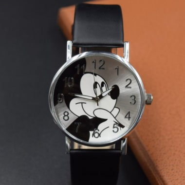 Amazing gift for your family and friends! Mouse cartoon watch women watches kid