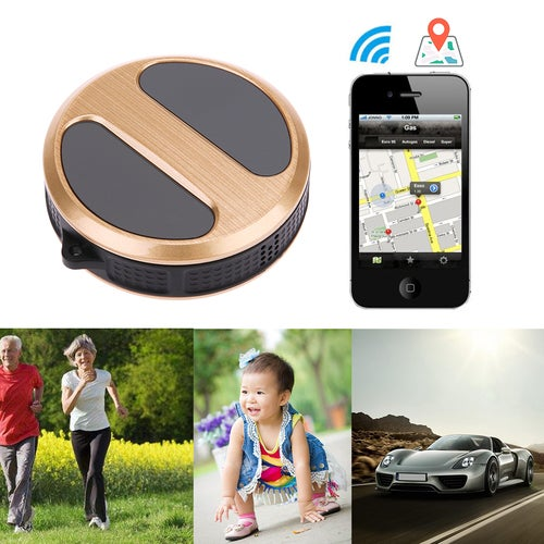 Mini Waterproof IP54 Dustproof GPS Tracker Locator With Google GPS tracking /LBS positioning suit for children/seniors/pet/vehicle/luggage Worldwide T8