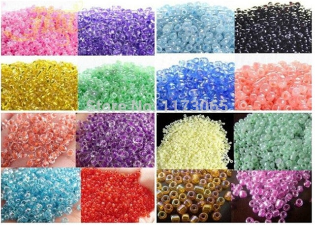 Needlework,DIY colorful beads For Embroidery kits, home decro factory direct sale by bag 40g