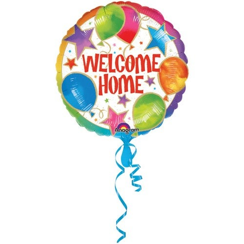 Amscan 18 Inch Welcome Home Celebrations Circular Foil Balloon