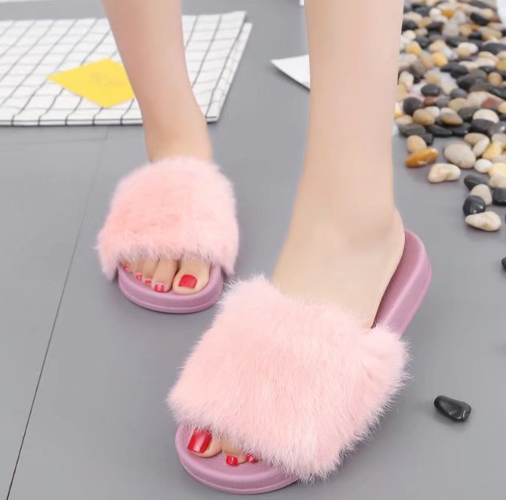 Comfort flat slippers women  home fashion  slippers