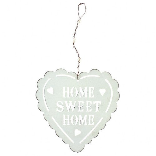 Heaven Sends Home Sweet Home Hanging Heart Decoration