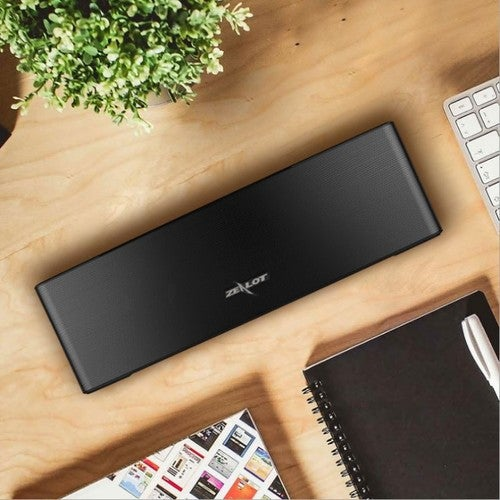 ZEALOT Fan Enthusiasts S12 Bluetooth Speaker Card Wireless Dual Speakers Home Audio Portable Subwoofer