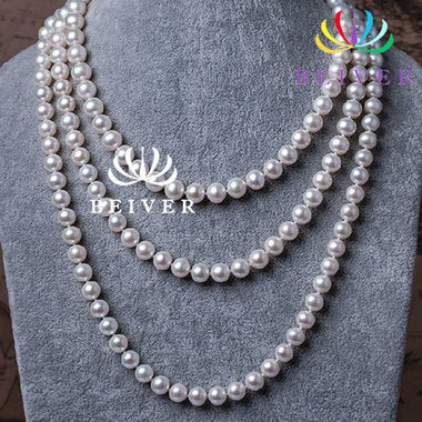 Genuine Pearl Necklace for Women