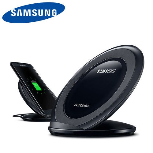Qi Wireless Fast Charger Charging Stand Dock Pad For Samsung iPhone