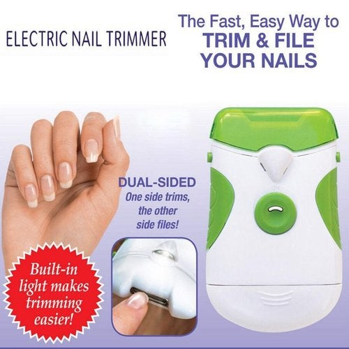 Electric Nail Clipper Nail File Manicure Pedicure Sets Health and Beauty Tools