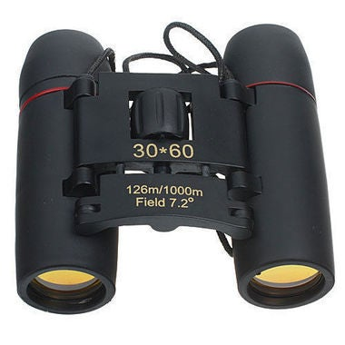 30x60 Binoculars Zoom Hd Telescope Bak4 Binocolo Optic Monoculars Pocket Mini Po