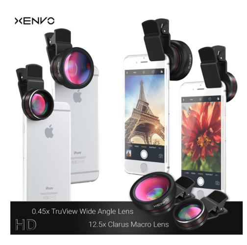 Universal Clip-on 180 degree 3 in 1 Fisheye+Wide Angle+Macro Camera Lens for iPhone Samsung Sony HTC Blackberry