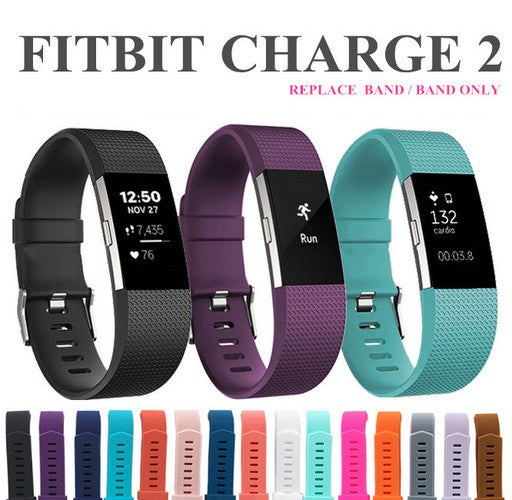 2018 Nice Strap Replacement Band Classic Buckle Metal Strap Wear Bracelet FitBit Charge 2