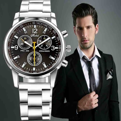 Full Steel Men Luxury Wristwatch