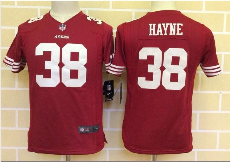 San Francisco 49ers #38 hayne red Youth Jersey