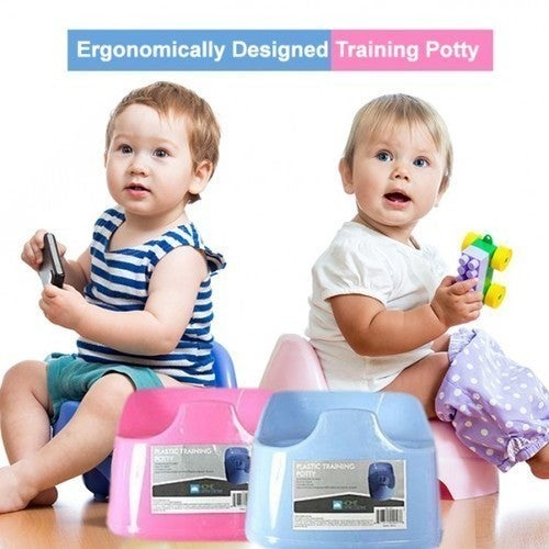Ergonomically Designed Plastic Training Potty by Home Collections