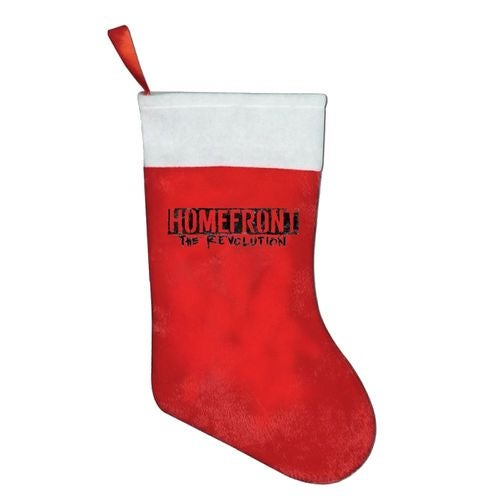 Homefront The Revolution HTR Logo Christmas Stocking Sock Gift Candy Hanging Bag Santa Claus Snowman Home Decoration