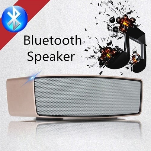 2017 Blutooth Bleutooth USB Blutooth Wireless Subwoofer Portable Bluetooth Speaker Music Audio Receiver Phone
