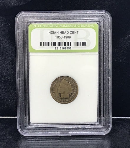 *INB Certified & Sealed* 1858-1909 INDIAN HEAD CENT