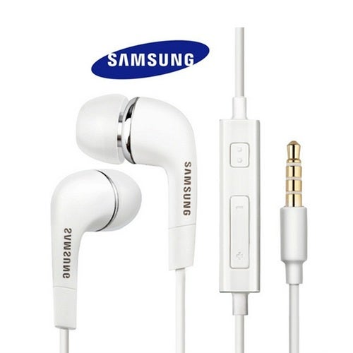 Samsung Galaxy Wired headphones w/ Remote & Mic White or Black