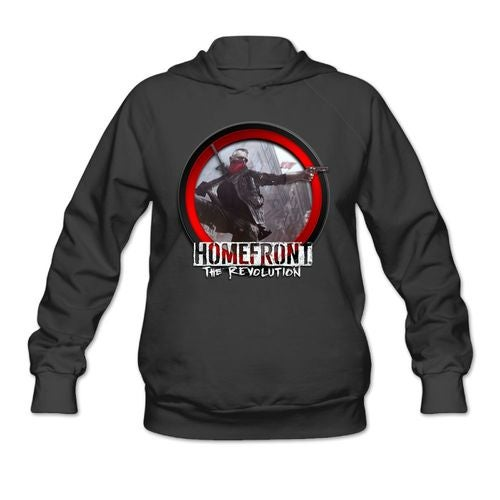 Homefront The Revolution 2016 Logo Women's Hoody Hoodie Hooded Sweatshirt