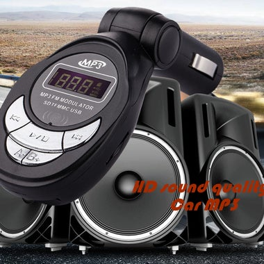 Newest Car MP3 Player Wireless In-Car LCD FM Transmitter Radio with Remote contr
