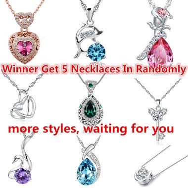 Crazy festival The winner get 5 necklaces in randomly
