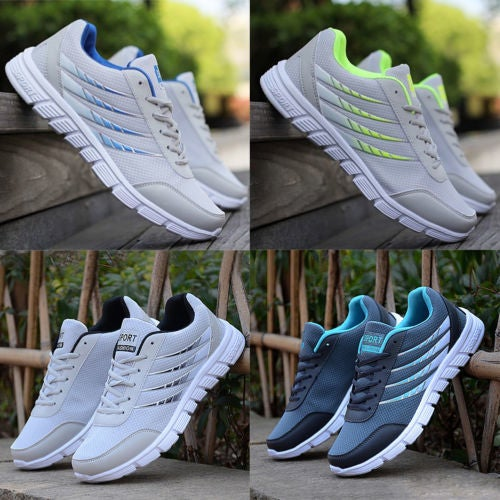 Men Running Breathable Sneakers Outdoor Sport Athletic Casual Shoes Size 6.5-8.5