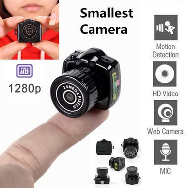 1280P HD The Smallest Mini Camera Video Hidden Recorder Micro Camera Camcorder S