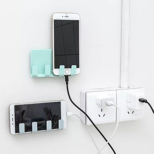 Home Office Wall-mounted Charging Bracket Holder for iPad Mobile Phone Support