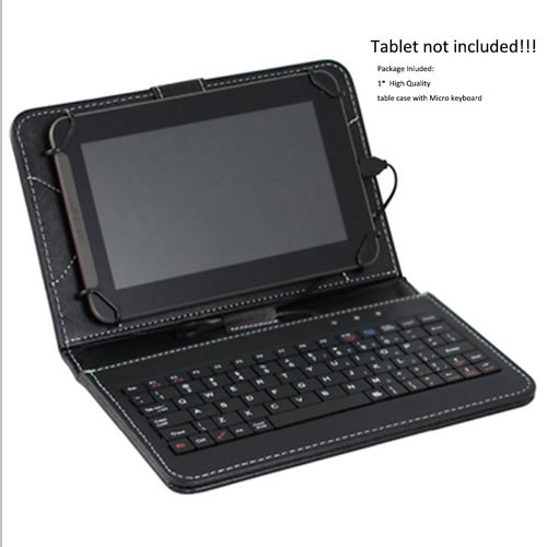 Hot Sale Universal 7inch Tablet PC Keyboard Flip Stand Case Keyboard Holster
