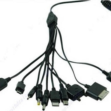 Hot selling!! 10 in 1 Universal Usb Cables for Mobile Phones Multi Charger Line