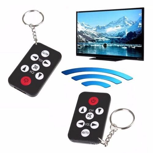 Universal TV Remote Infrared IR Set 7 Keys Television Control Controller Key