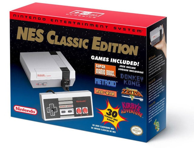 NES Classic Edition HDMI Entertainment Console Built -in 30 Games with wired Handle controller  Xmas Gift NEW