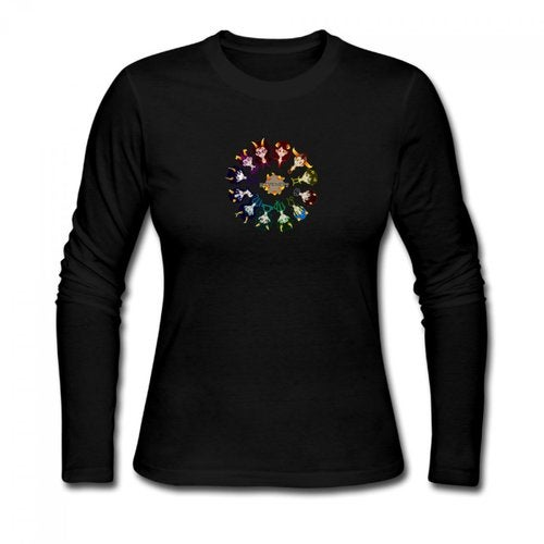 Homestuck Hivebent Betas Clock Starsign Women's Long Sleeve T-shirt