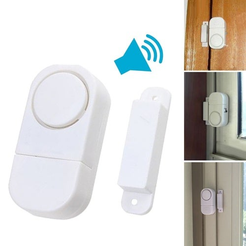 Doorbell Wireless Home Security Door Window Entry Burglar Alarm Signal Safety Switch Magnetic Sensor Guardian Protector Trendy (Size: 1 pcs)
