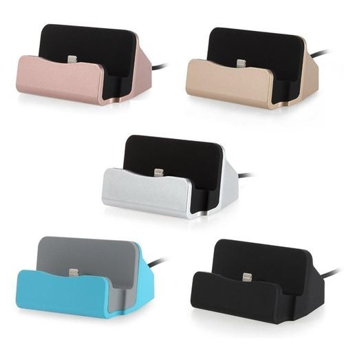 Desktop Charger and Sync Stand for iPhone/Samsung Phones